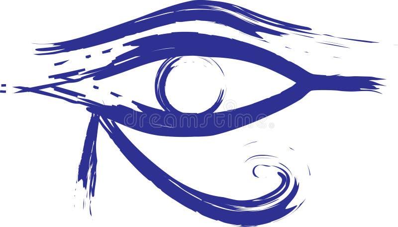 Horus Eys stock illustration