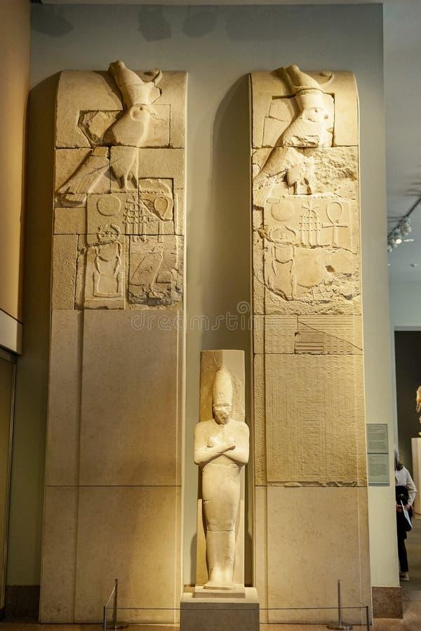 Horus-Tempel im Stadtmuseum lizenzfreie stockfotografie