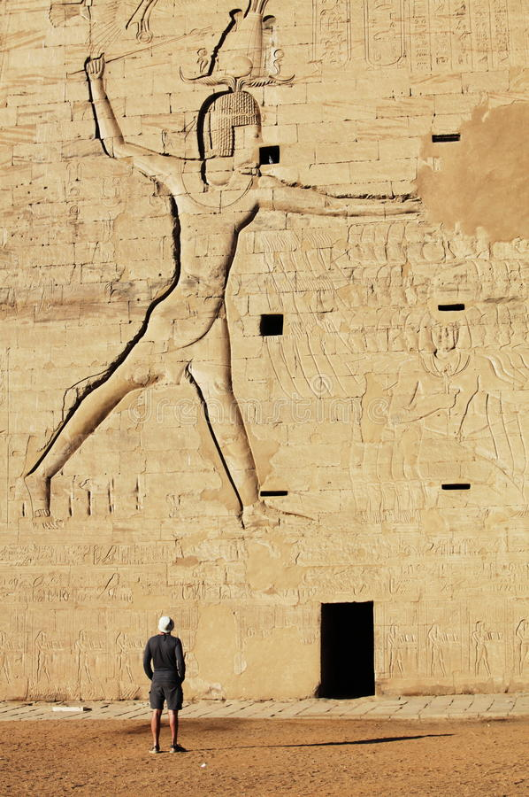 Download Horus temple stock image. Image of culture, falcon, fossil - 12827135