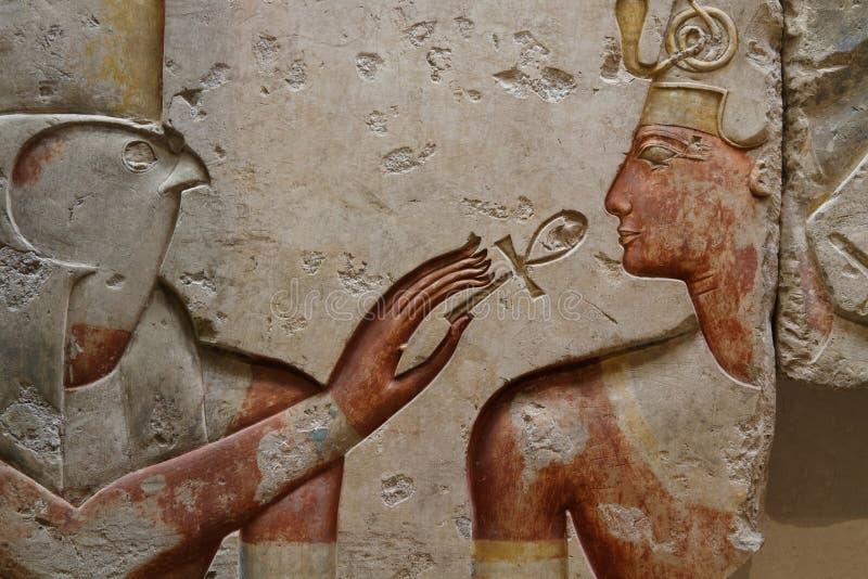 Horus y Ramses imagen de archivo