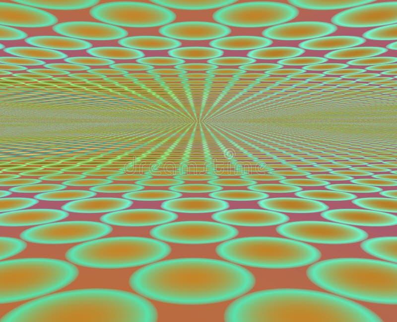 horyzont disco ilustracja wektor