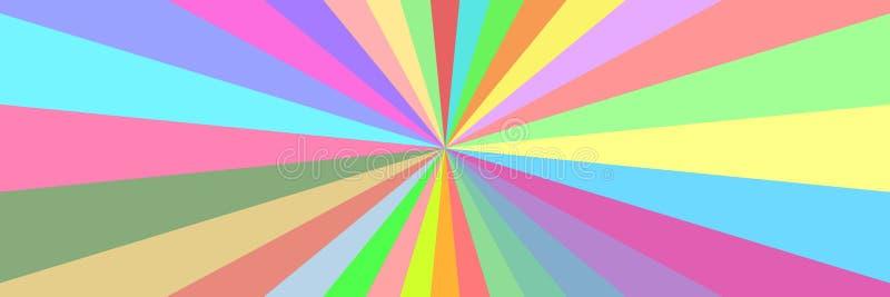 horyzontalna abstrakcjonistyczna kolorowa tekstura dla wzoru i tła royalty ilustracja