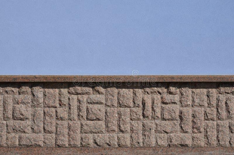 Horyzontalna tekstura prostacki i silny mozaika granitu kamienia fou obrazy royalty free