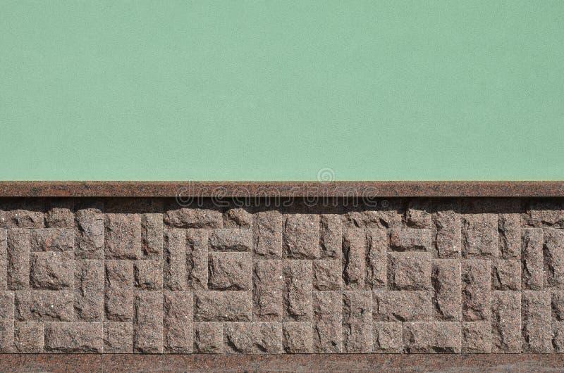 Horyzontalna tekstura prostacki i silny mozaika granitu kamienia fou zdjęcia stock