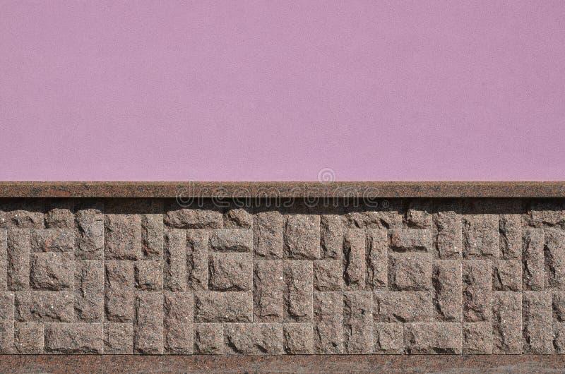 Horyzontalna tekstura prostacki i silny mozaika granitu kamienia fou fotografia royalty free