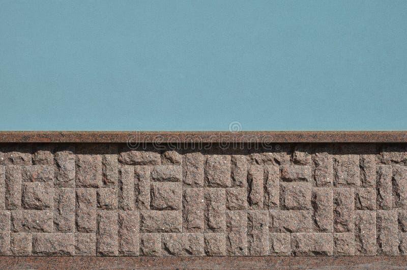 Horyzontalna tekstura prostacki i silny mozaika granitu kamienia fou zdjęcie royalty free