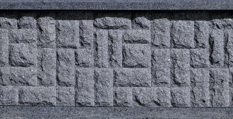 Horyzontalna tekstura prostacki i silny mozaika granitu kamienia fou obraz royalty free