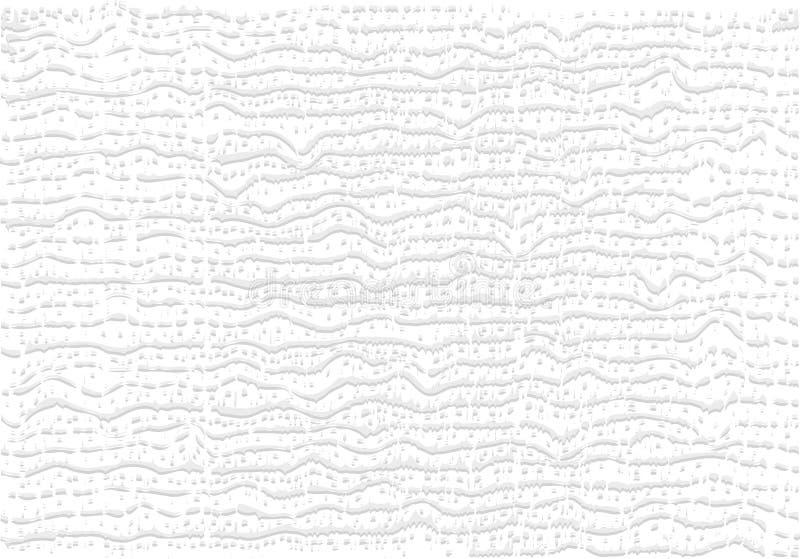 Horyzontalne faliste linie tekstura tkanina, bawełna, pościel okładkowy projekt, prezentacja, tapeta, tkaniny wektor w minimaliśc ilustracja wektor