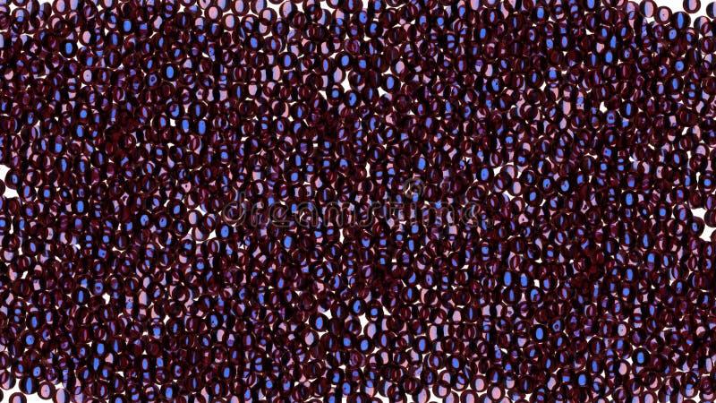 horyzontalny abstrakcjonistyczny t?o ilustracja wektor