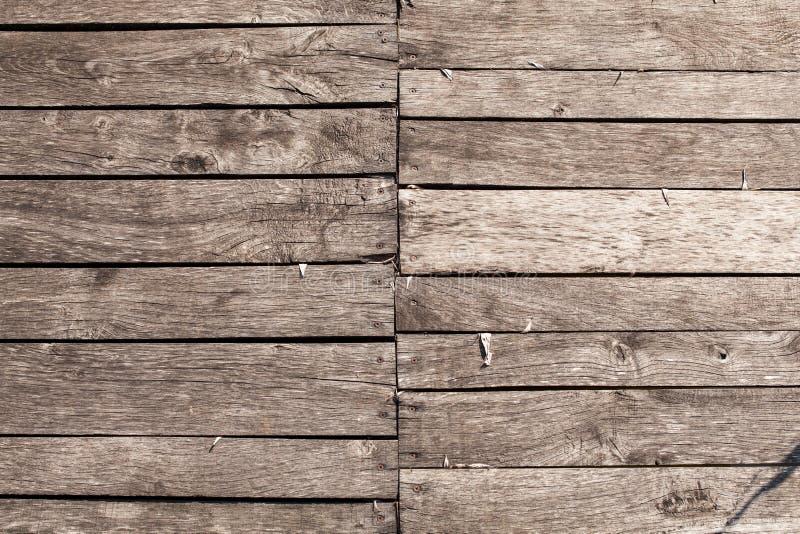 Horyzontalny drewno zaszaluje ściennego tło struktura fizyczna obrazy royalty free