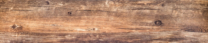 Horyzontalny sztandar z rocznika drewna teksturą obraz stock