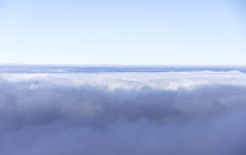Horzion и небо облаков стоковое фото rf