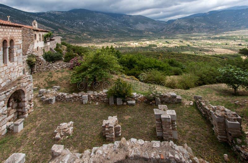 Hosios Loukas Grecia Fotografía de archivo