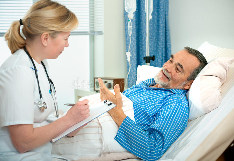 In hospital royalty free stock photo