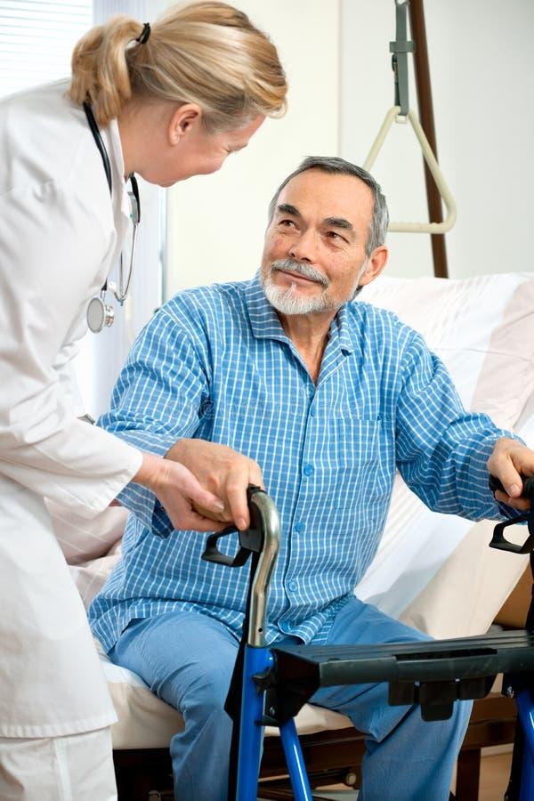 In hospital stock image