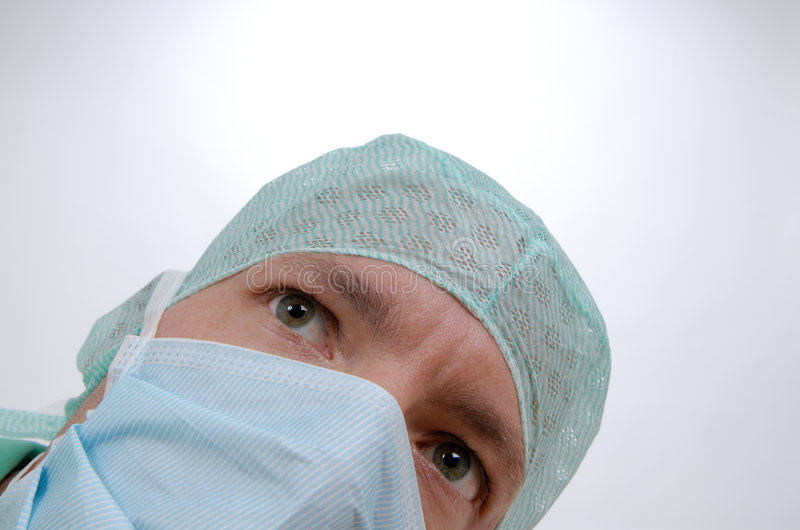In the hospital royalty free stock photography