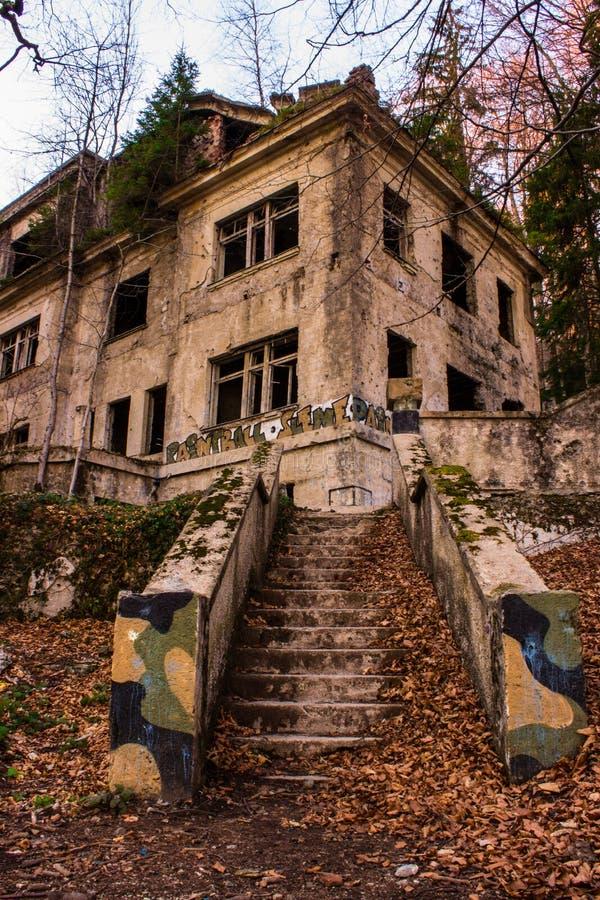 Hospital abandonado fotografía de archivo