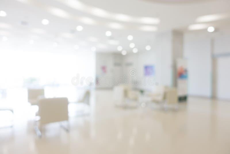 Hospital abstrato do borrão foto de stock royalty free