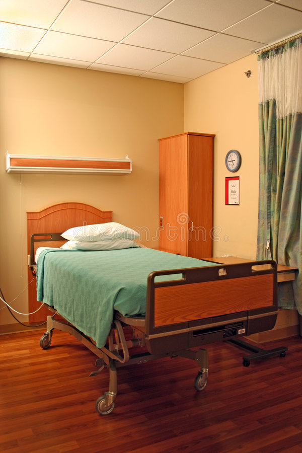 Download Hospital bed stock image. Image of cleanliness, ailment - 1056401