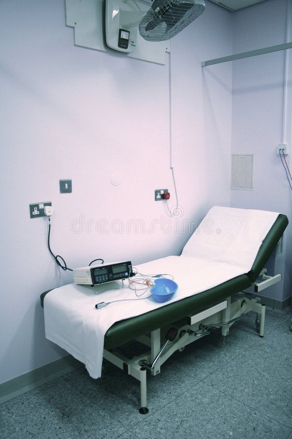 Hospital bed stock images