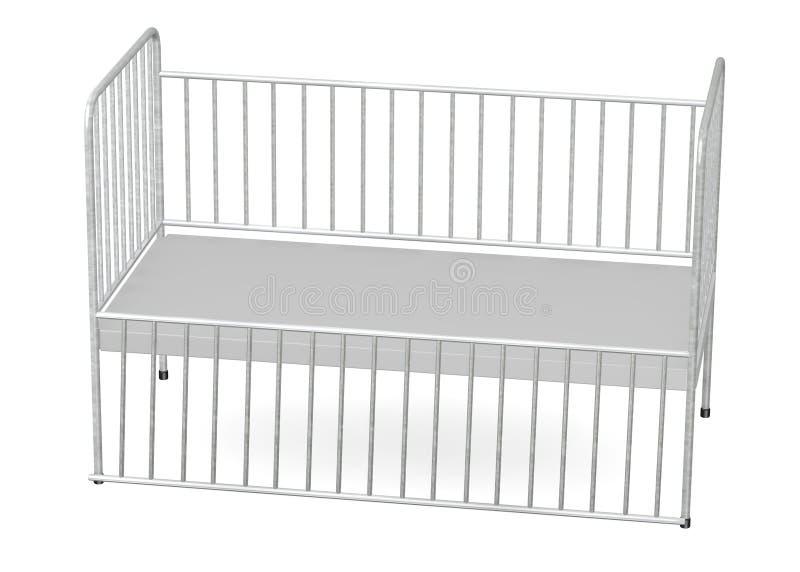 Download Hospital bed (child) stock illustration. Image of furniture - 24060468