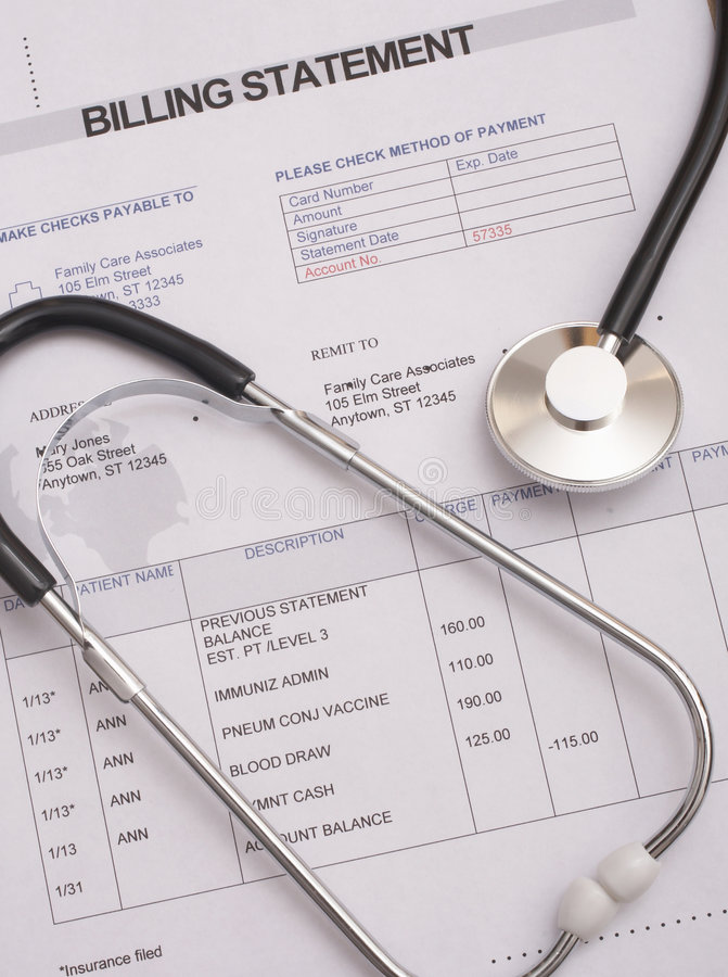 Free Hospital Bill Royalty Free Stock Photos - 4915028
