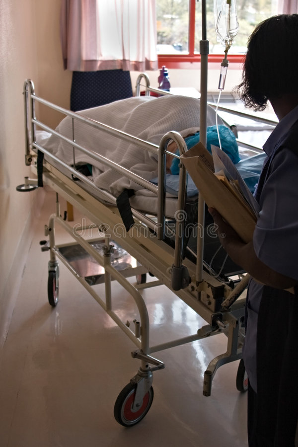 Hospital care royalty free stock photo