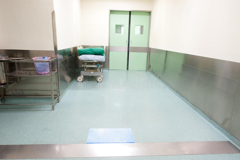 Hospital corridor royalty free stock photos