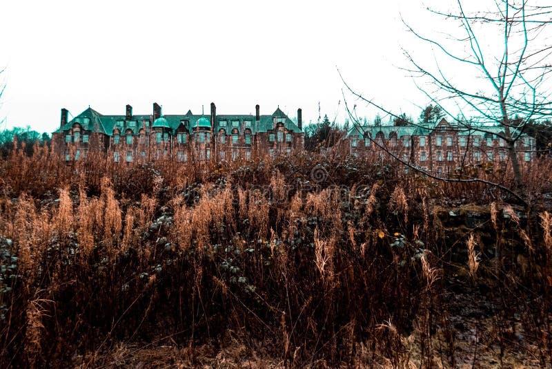Hospital da vila de Bangour imagem de stock