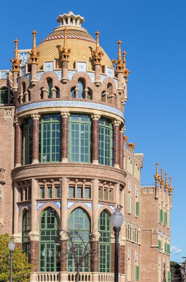Hospital de Λα Santa Creu ι Sant Πάου στη Βαρκελώνη στοκ φωτογραφία με δικαίωμα ελεύθερης χρήσης