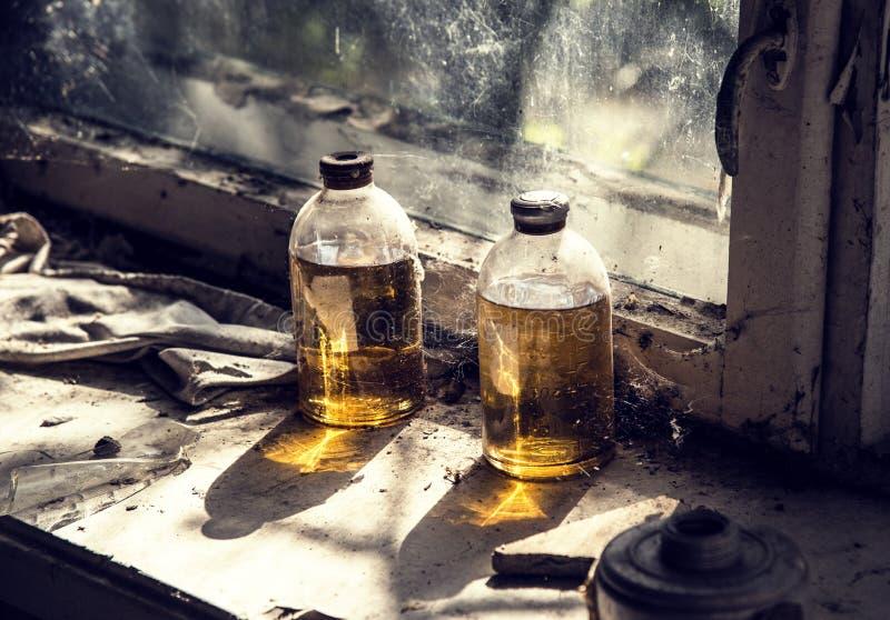 Hospital de Chernobyl Pripyat fotografia de stock royalty free