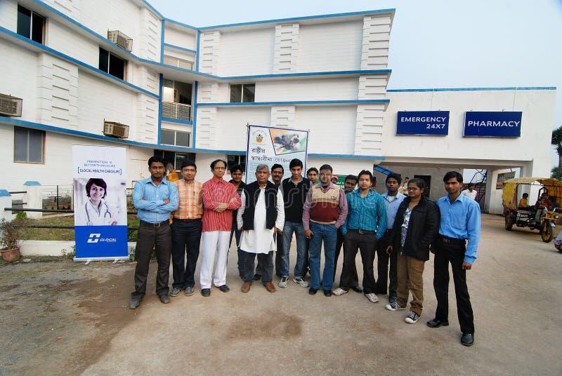 Hospital de Glocal em Bengal ocidental fotos de stock
