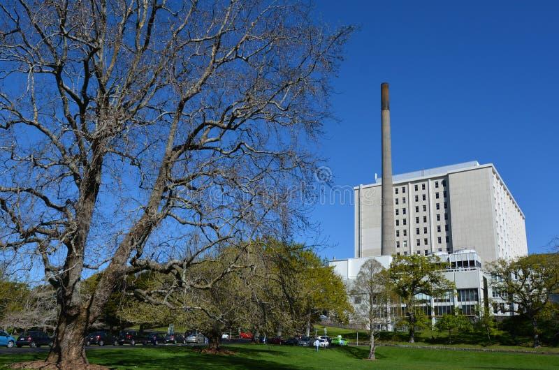 Hospital de la ciudad de Auckland - Nueva Zelanda fotos de archivo