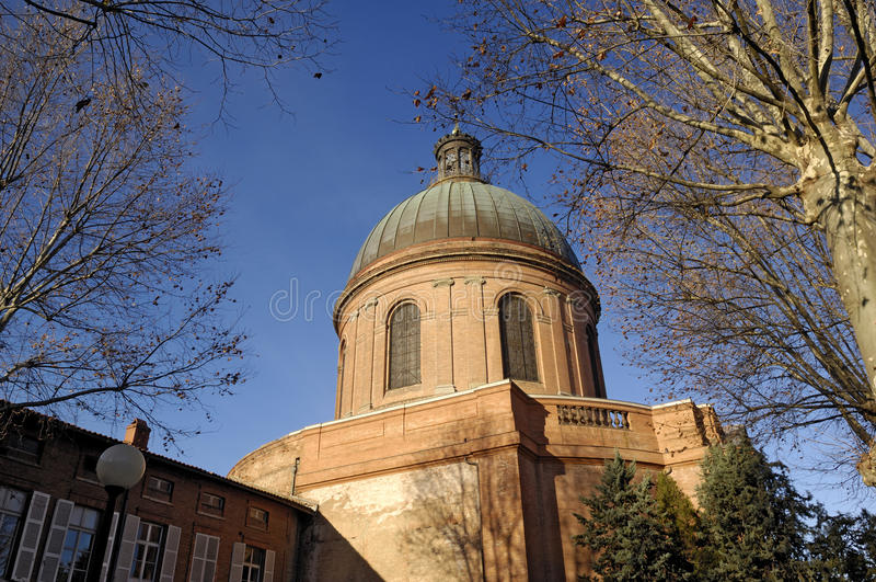 Hospital de La Grave en Toulouse, foto de archivo libre de regalías