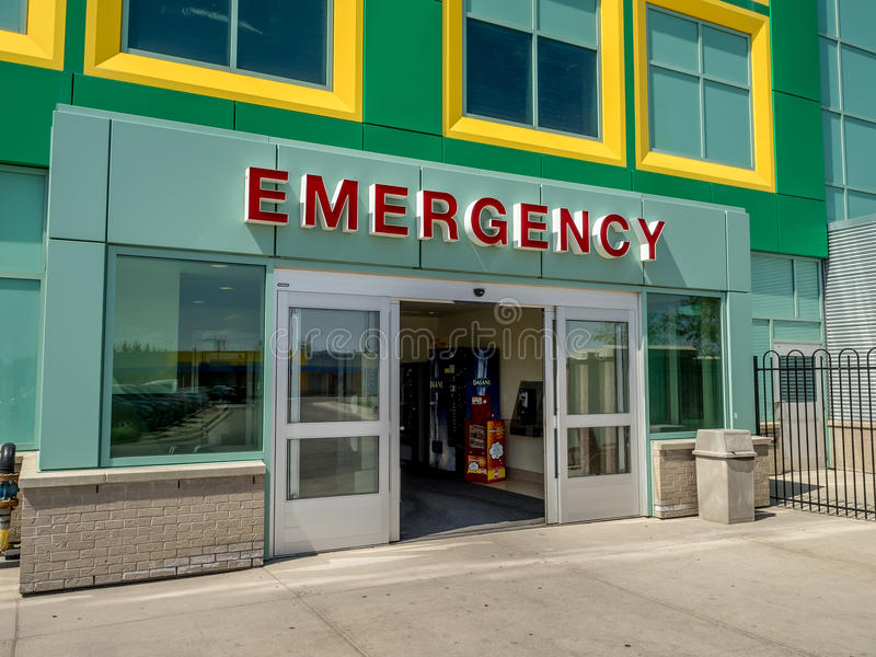 Hospital de niños de Alberta fotos de archivo
