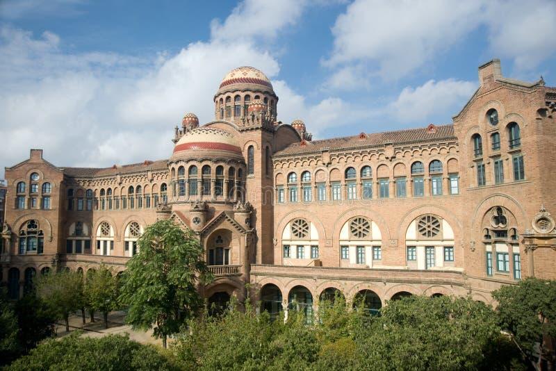 Hospital de Sant Pau (Barcelona, Catalonia) fotos de stock