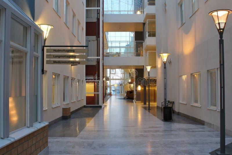 Hospital de Sunderby imagen de archivo libre de regalías