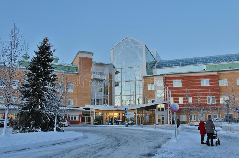 Hospital de Sunderby fotos de archivo