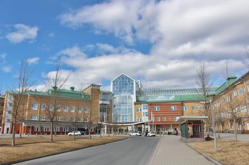 Hospital de Sunderby fotografía de archivo