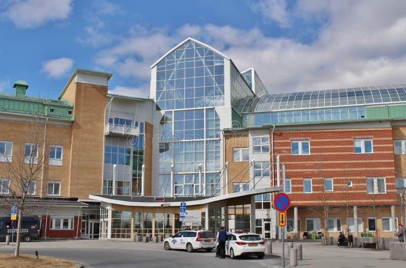Hospital de Sunderby fotos de archivo libres de regalías