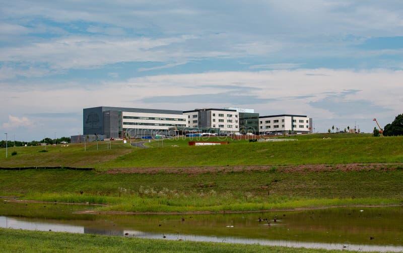 Hospital de UPMC sob a construção, 1701 movimentação da inovação, York, PA 17408, EUA fotos de stock royalty free