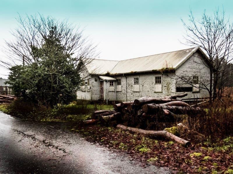 Hospital del pueblo de Bangour imagen de archivo libre de regalías