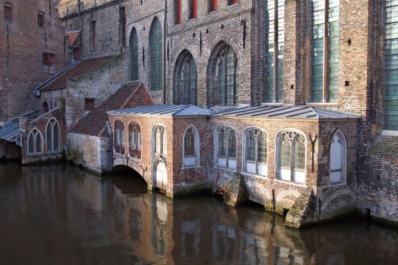 Hospital do St. John em Bruges imagem de stock