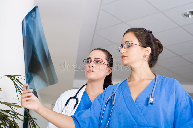 Download Hospital doctors stock image. Image of diagnose, chest - 8107331