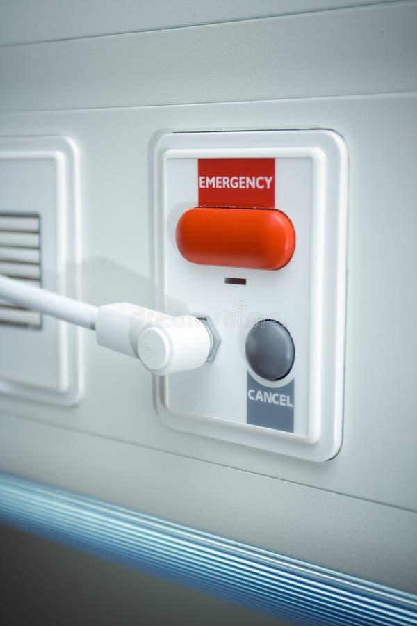 Hospital emergency button stock image