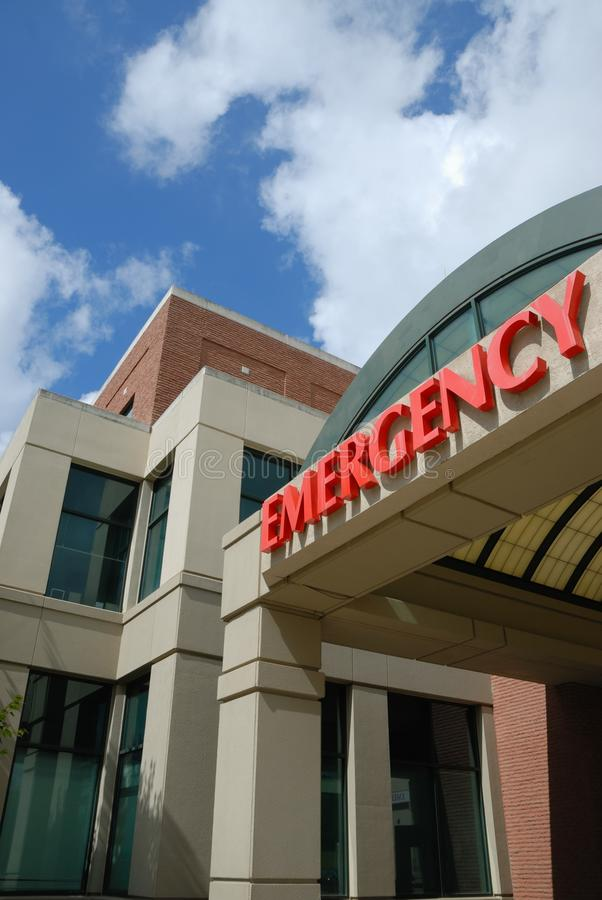 Free Hospital Emergency Entrance Royalty Free Stock Photography - 14465757