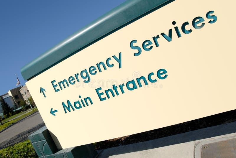 Download Hospital Emergency Entrance Sign Stock Photo - Image: 9449652