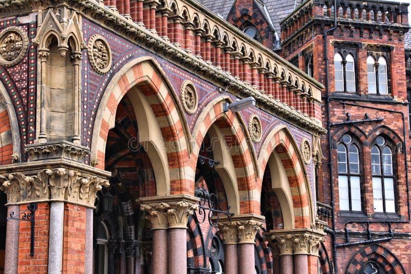 Hospital en Leeds Reino Unido fotografía de archivo