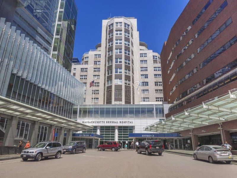 Hospital General de Massachusetts imagen de archivo libre de regalías