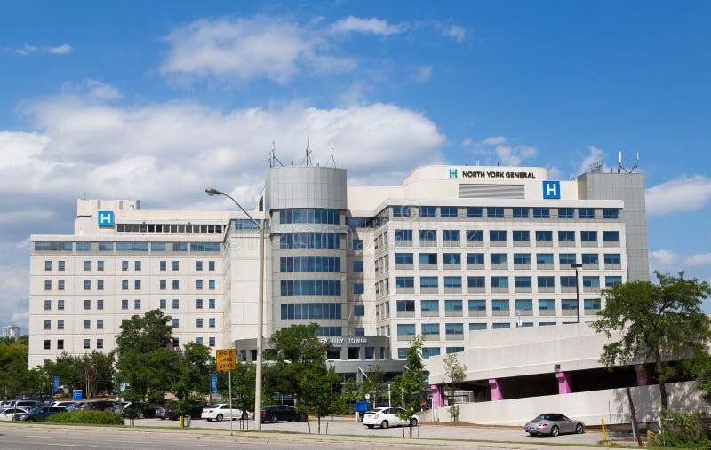 Hospital General del norte de York fotos de archivo